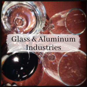 Glass and Aluminum industries
